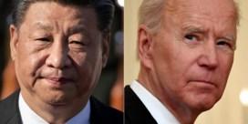 Eerste telefoongesprek in zeven maanden tussen Biden en Xi Jinping