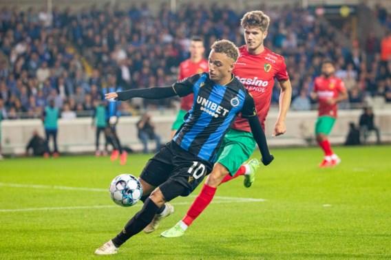 Club Brugge toont zich te sterk voor KV Oostende