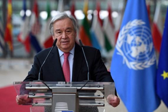 VN-topman Guterres: 'Dialoog nodig met taliban'