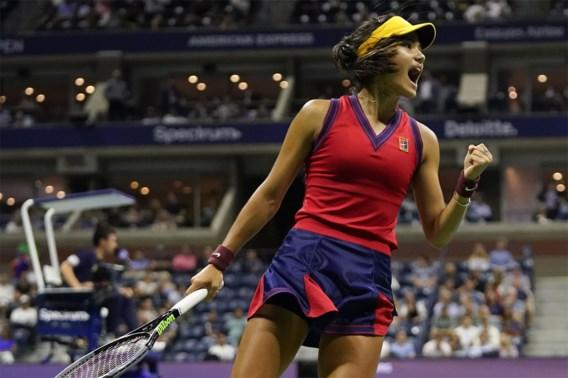 Tieners Fernandez en Raducanu spelen vrouwenfinale op US Open na stunts