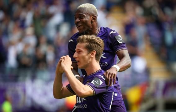 Anderlecht straft KV Mechelen af met zeven doelpunten