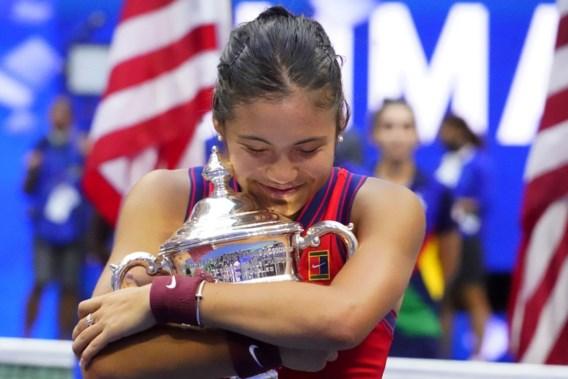 US Open: 18-jarige Britse Emma Raducanu wint haar eerste grand slam