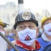 Mijnwerkers betogen voor 'eerlijker' pensioen