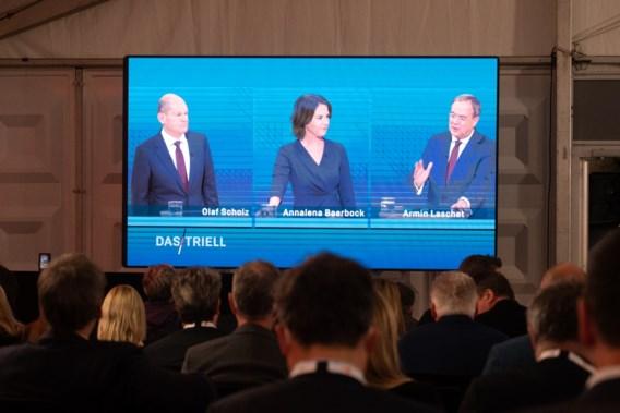 Scholz wint ook tweede televisiedebat Duitse verkiezingen, Laschet sluit ondergeschikte rol in regering niet uit
