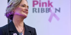 Prinses Delphine ontwerpt lintje van Pink Ribbon: 'Ik heb onmiddellijk ja gezegd'