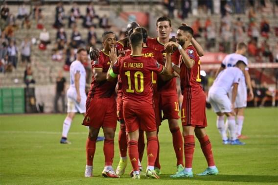 Rode Duivels behouden eerste plaats op Fifa-ranking