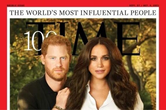 Harry en Meghan op voorgrond van <I>Time</I>'s lijst van meest invloedrijke personen