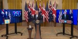 Biden vergeet naam Australische premier bij voorstelling historisch pact