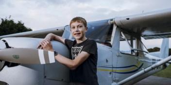 Daan is 15 jaar en … piloot