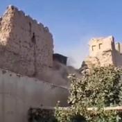 Het slopen is begonnen: taliban breken historische site af
