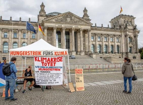 Hongerstakende klimaatactivist in Berlijn opgenomen in het ziekenhuis