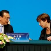 Als China dat vraagt, past de Wereldbank de cijfers aan