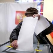 Kremlinpartij op kop na eerste resultaten