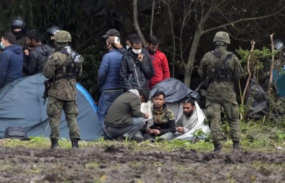 Vier migranten dood aangetroffen aan grens tussen Polen en Wit-Rusland