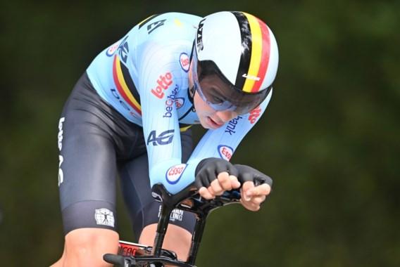 Florian Vermeersch pakt brons bij beloften in tijdrit WK wielrennen, goud voor Price-Pejtersen