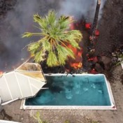 Lava brengt zwembaden aan de kook op La Palma