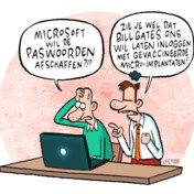 Microsoft gooit het wachtwoord overboord
