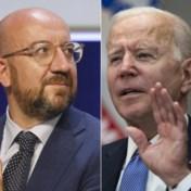 Michel reageert ontgoocheld op 'America first' van Biden