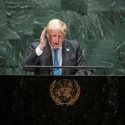 Johnson tijdens VN-speech: 'Kermit de Kikker was fout, het is wel makkelijk om groen te zijn'