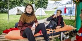 Hongerstakers voor het klimaat in Duitsland spelen het hard