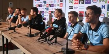 Ontspannen Belgische selectie bevestigt nogmaals het vertrouwen in Van Aert
