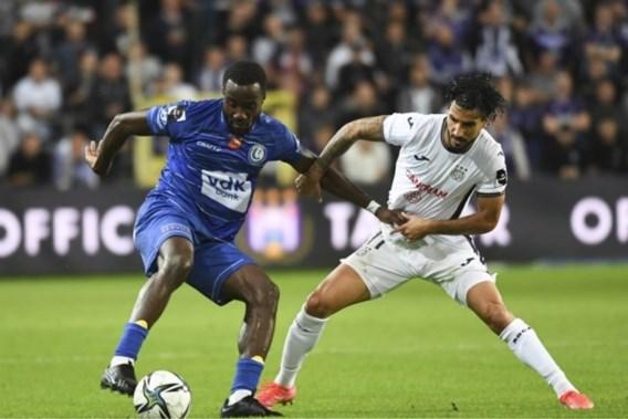 Teleurstellende topper tussen Anderlecht en AA Gent levert geen winnaar op