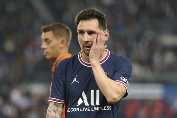PSG moet geblesseerde Lionel Messi missen