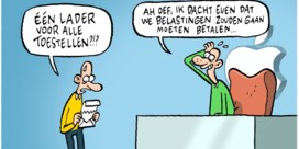 Lectrr, cartoon van de dag