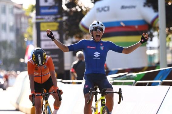 Italiaanse Elisa Balsamo pakt wereldtitel bij vrouwen