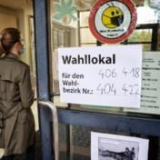 Duitse stembussen geopend