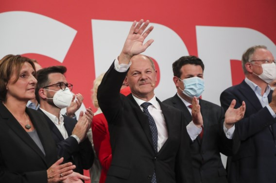 SPD wint parlementsverkiezingen: winnaar Scholz én geslagen Laschet eisen kanselierschap op
