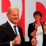 SPD wint parlementsverkiezingen, CDU/CSU op historisch dieptepunt