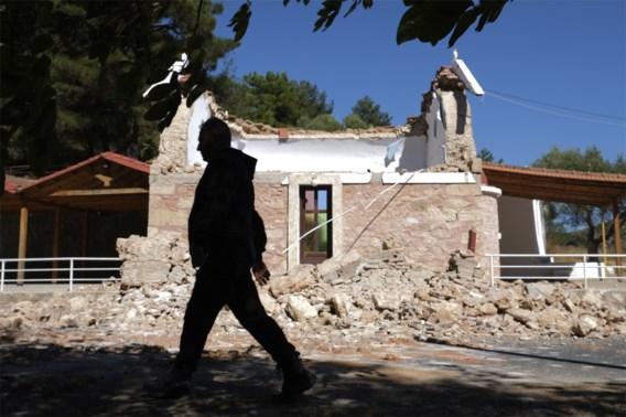 Zware aardbeving treft Kreta