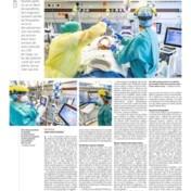 Le Soir past publicatie aan na haatreacties tegen zorgpersoneel