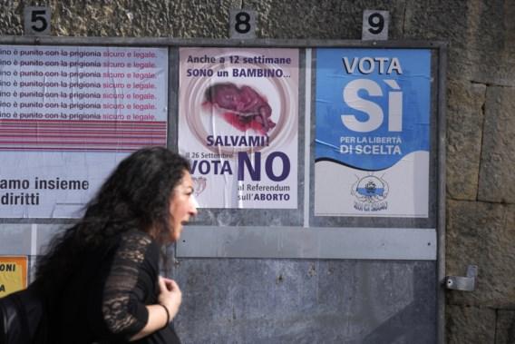 San Marino kiest via referendum voor legalisering van abortus