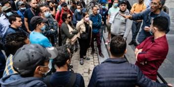 Sans-papiers stappen zondag in Brussel op voor algemene regularisatie