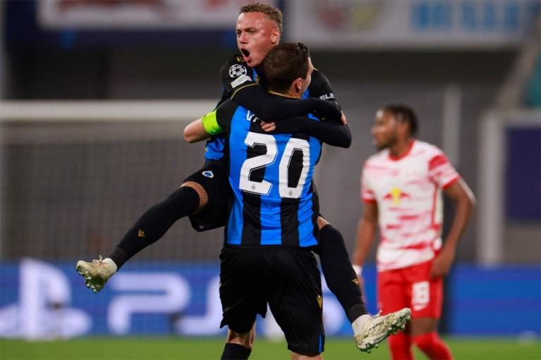 Muito forte, o Club Brugge venceu o Leipzig