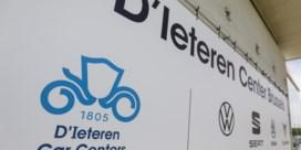 103 banen op de tocht bij D'Ieteren