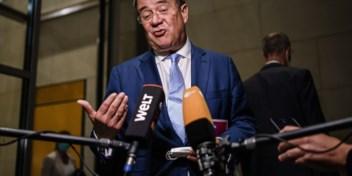 Armin Laschet verontschuldigt zich bij CDU/CSU voor tegenvallend resultaat