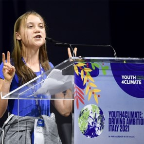 Greta Thunberg haalt uit naar wereldleiders: 'Blabla is alles wat we horen'