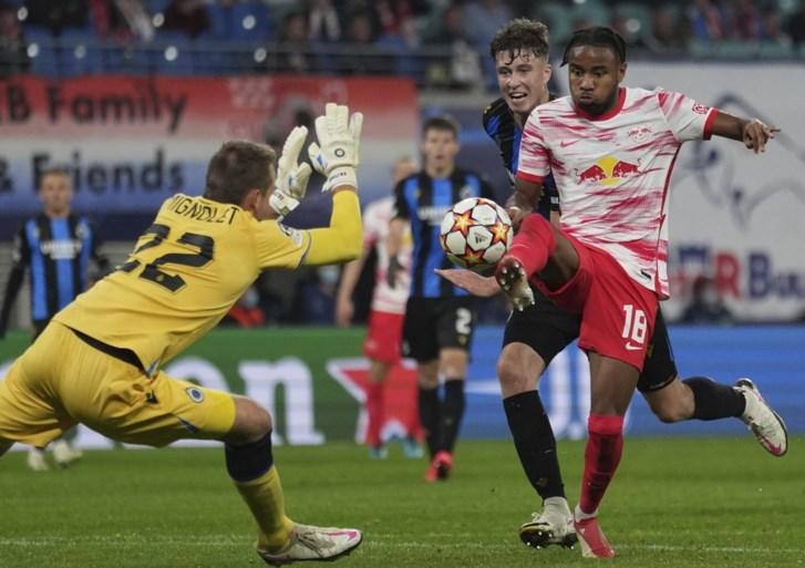 Sterk Club Brugge wint op het veld van RB Leipzig