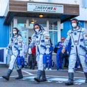 Russische filmploeg op weg naar ISS om eerste film in de ruimte te maken