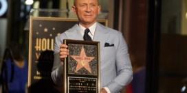 Daniel Craig gehuldigd met ster op Walk of Fame: 'Het is nu aan een andere Bond'
