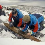 Noorse archeologen graven skilat van 1.300 jaar oud op