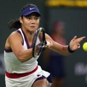 Tennissensatie Emma Raducanu meteen uitgeschakeld op Indian Wells