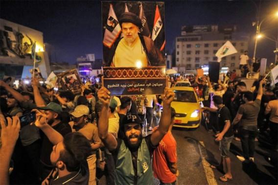 Beweging sjiitische leider Moqtada al-Sadr op kop bij Iraakse parlementsverkiezingen
