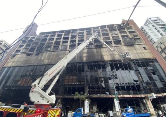 Zeker 46 doden bij brand in woontoren in Taiwan