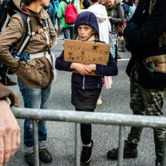 De jongeren maken van Europa een klimaatleider