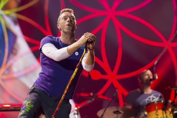 Coldplay komt op 5 en 6 augustus naar ons land