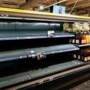 Carrefour krijgt rekken maar niet gevuld, ondanks einde staking